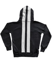 Load image into Gallery viewer, Goodwood Road Racing Company Hoody Black and White