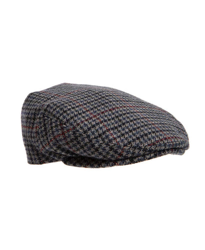 Children's Flat Cap Grey and Red