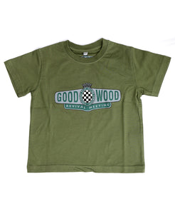 Revival T-Shirt Olive Children's