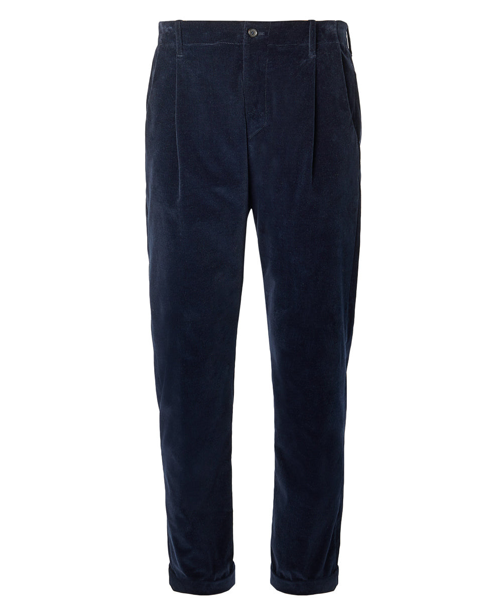 Goodwood Connolly Corduroy Trouser Navy