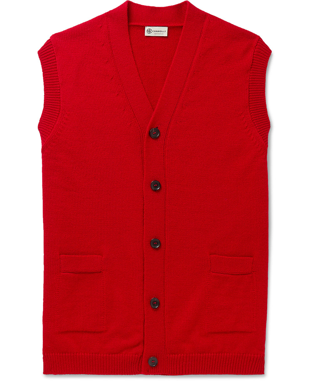 Goodwood Connolly Winners Waistcoat Red