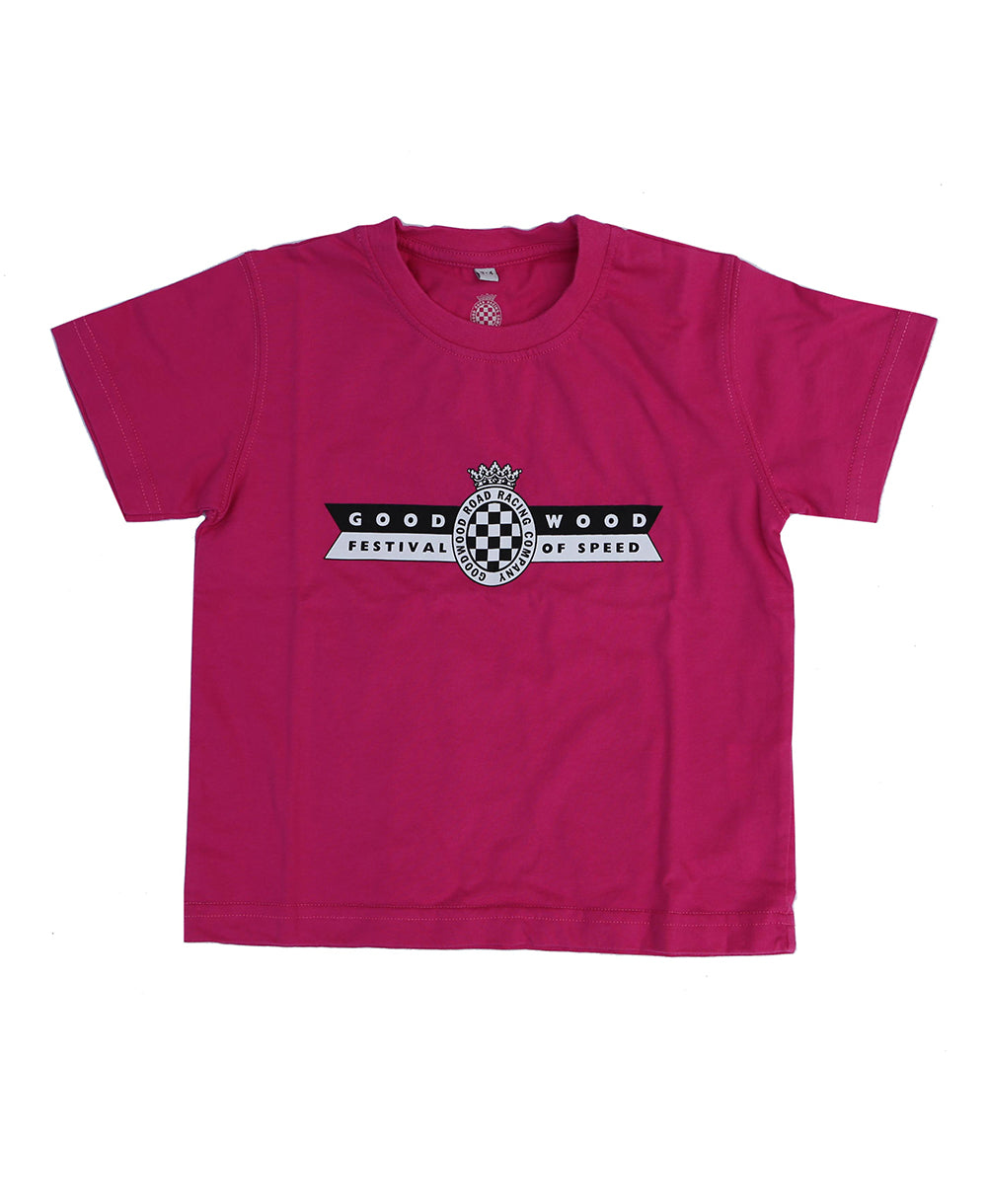 Festival of Speed Logo Pink Children's T-Shirt