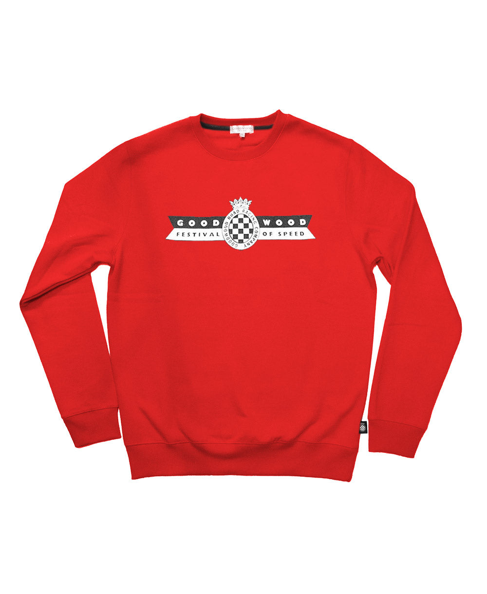 Festival of Speed Racing Colours Sweatshirt Red