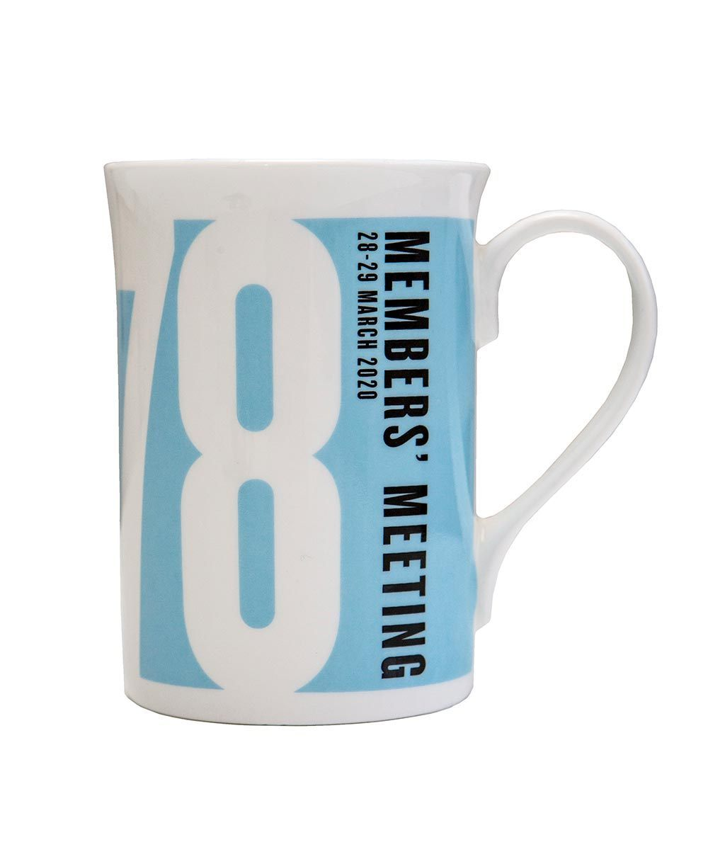 Goodwood 78th Members Meeting Bone China Mug