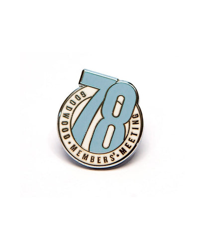 Goodwood 78th Members Meeting Enamel Pin Badge