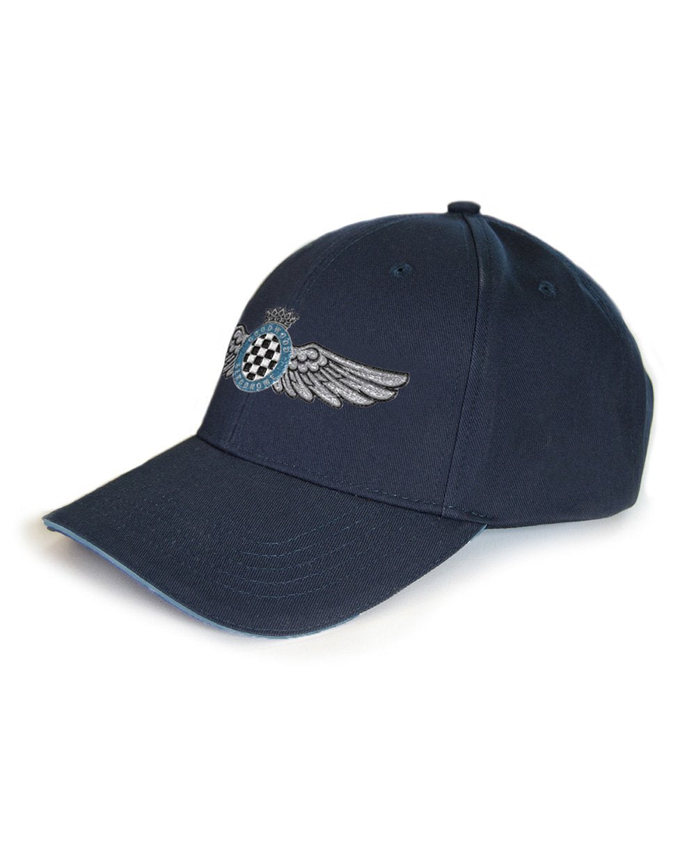 Goodwood Aero Club Cotton Twill Blue Baseball Cap