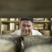 Load image into Gallery viewer, Goodwood's artisan cheesemaker, Bruce Rowan, in the cheese room at Goodwood.