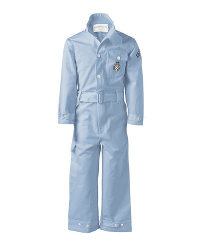 Goodwood Cotton Childrens Grrc Blue Mechanic Overalls