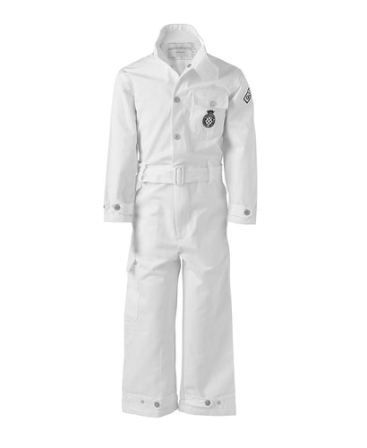 Goodwood Cotton Childrens Grrc White Mechanic Overalls