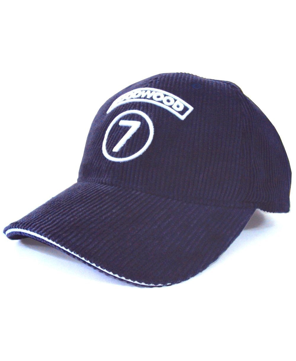 Goodwood Cotton Twill Stirling Moss Number 7 Navy Baseball Cap