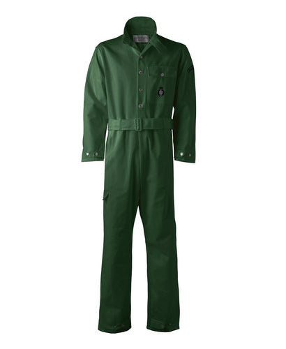 Goodwood Green Cotton Unisex Grrc Overalls