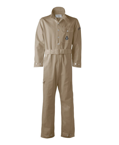 Goodwood Khaki Cotton Unisex Grrc Overalls