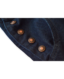 Goodwood Denim Womens Dungarees Buttons