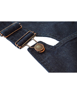 Goodwood Denim Womens Dungarees Clips