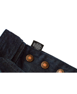 Goodwood Denim Womens Dungarees Label