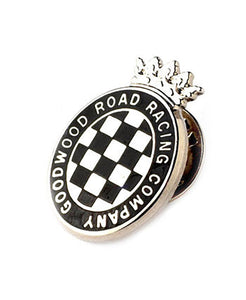 Goodwood Enamel Grrc Pin Badge