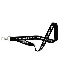 Goodwood Festival Of Speed Black Ticket Lanyard