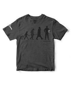 Goodwood Festival Of Speed Cotton Mens Evolution Grey T Shirt