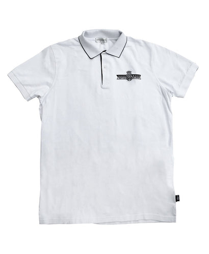 Goodwood Festival Of Speed Cotton Mens White Polo Shirt