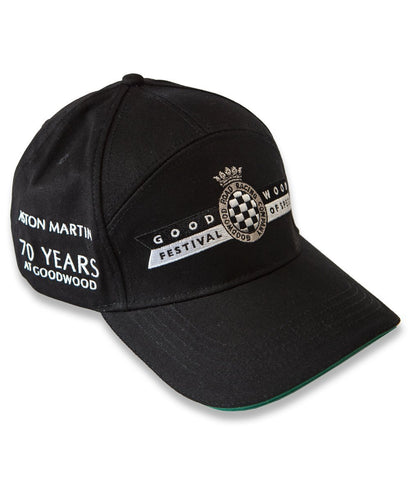 Goodwood Festival Of Speed Cotton Twill Aston Martin 2019 Black Green Baseball Cap