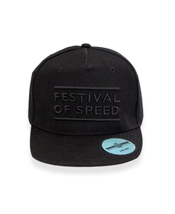 Goodwood Festival Of Speed Cotton Twill The Arena Black Snapback Front