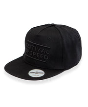 Load image into Gallery viewer, Goodwood Festival Of Speed Cotton Twill The Arena Black Snapback Sticker