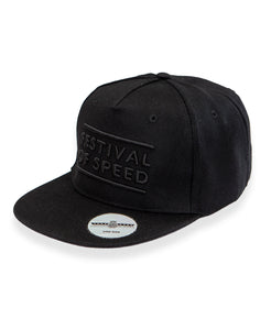 Goodwood Festival Of Speed Cotton Twill The Arena Black Snapback Sticker