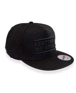 Goodwood Festival Of Speed Cotton Twill The Arena Black Snapback