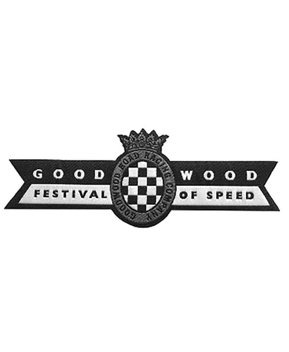 Goodwood Festival Of Speed Iron On Badge