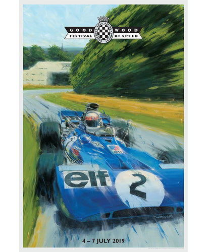 Goodwood Festival Of Speed Official 2019 Jackie Stewart Poster