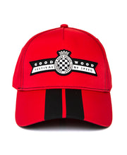 Load image into Gallery viewer, Festival of Speed Logo Red & Black Striped Baseball Cap