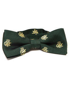 GRRC Members' Ready Tied Woven Silk Bow Tie