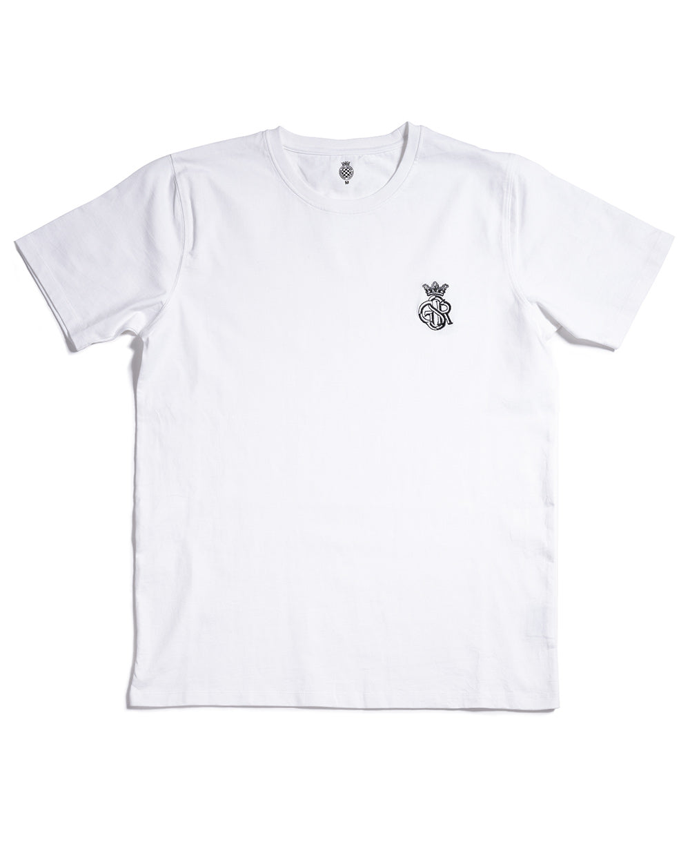 GSR Men's White T-Shirt