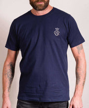 Load image into Gallery viewer, GSR Men's Navy T-Shirt