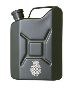 Goodwood Jerry Can Black Hip Flask