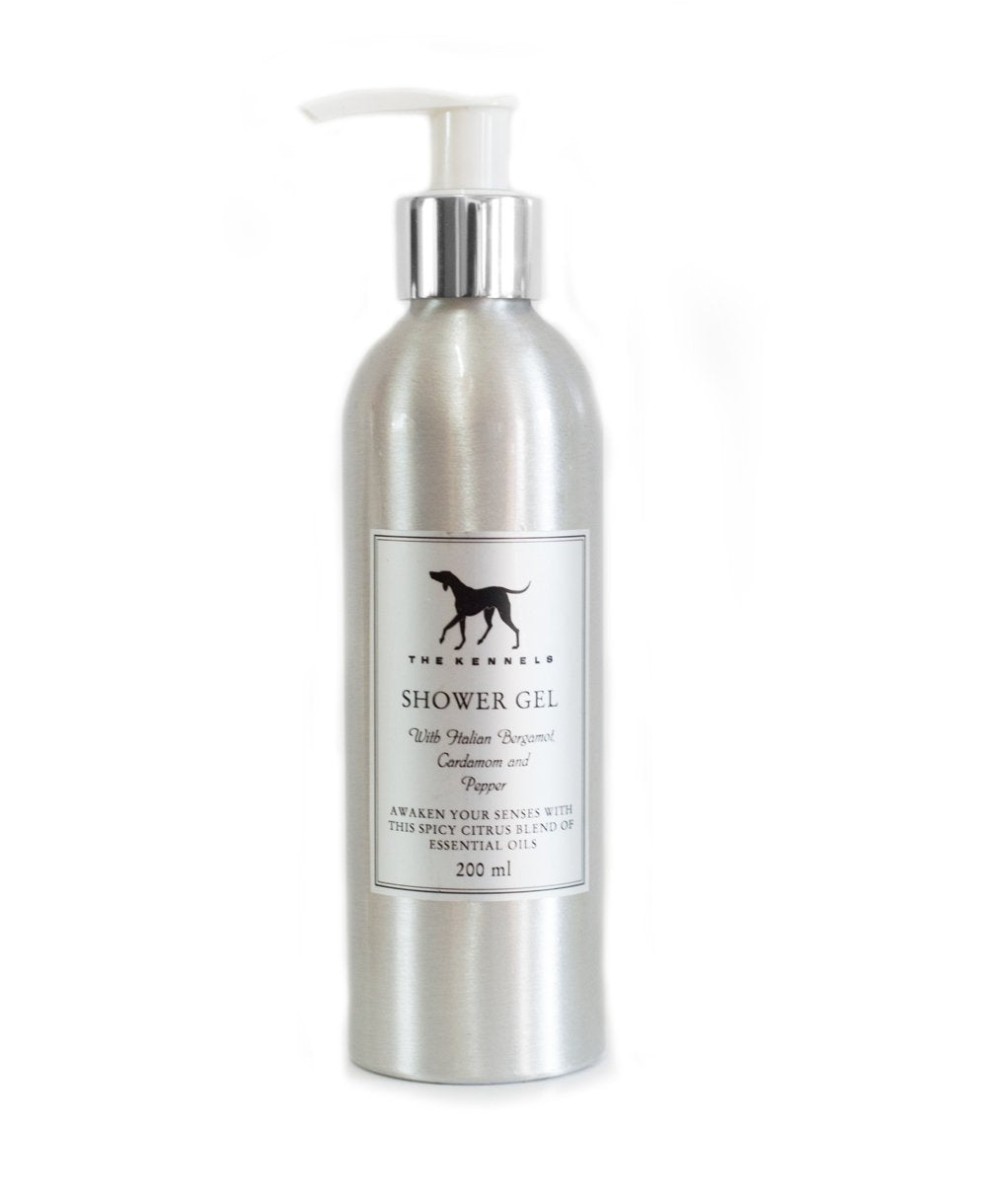 Goodwood Kennels Italian Bergamot Cardamom Pepper Shower Gel