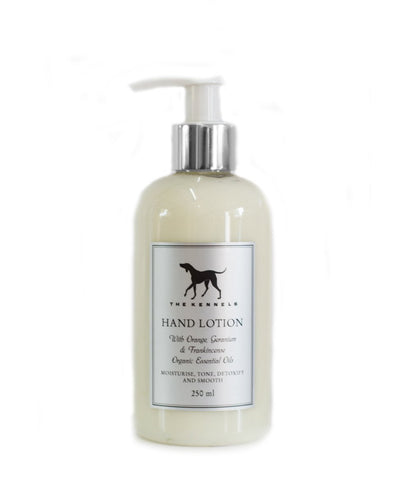 Goodwood Kennels Nourishing Orange Geranium Frankincense Hand Lotion