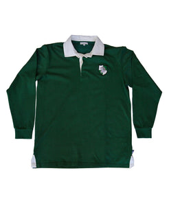 Goodwood Members Meeting Cotton Mens Methuen Lion House Green Rugby Shirt