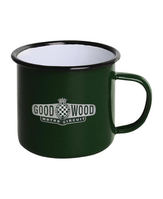 Goodwood Motor Circuit British Racing Green Tin Mug