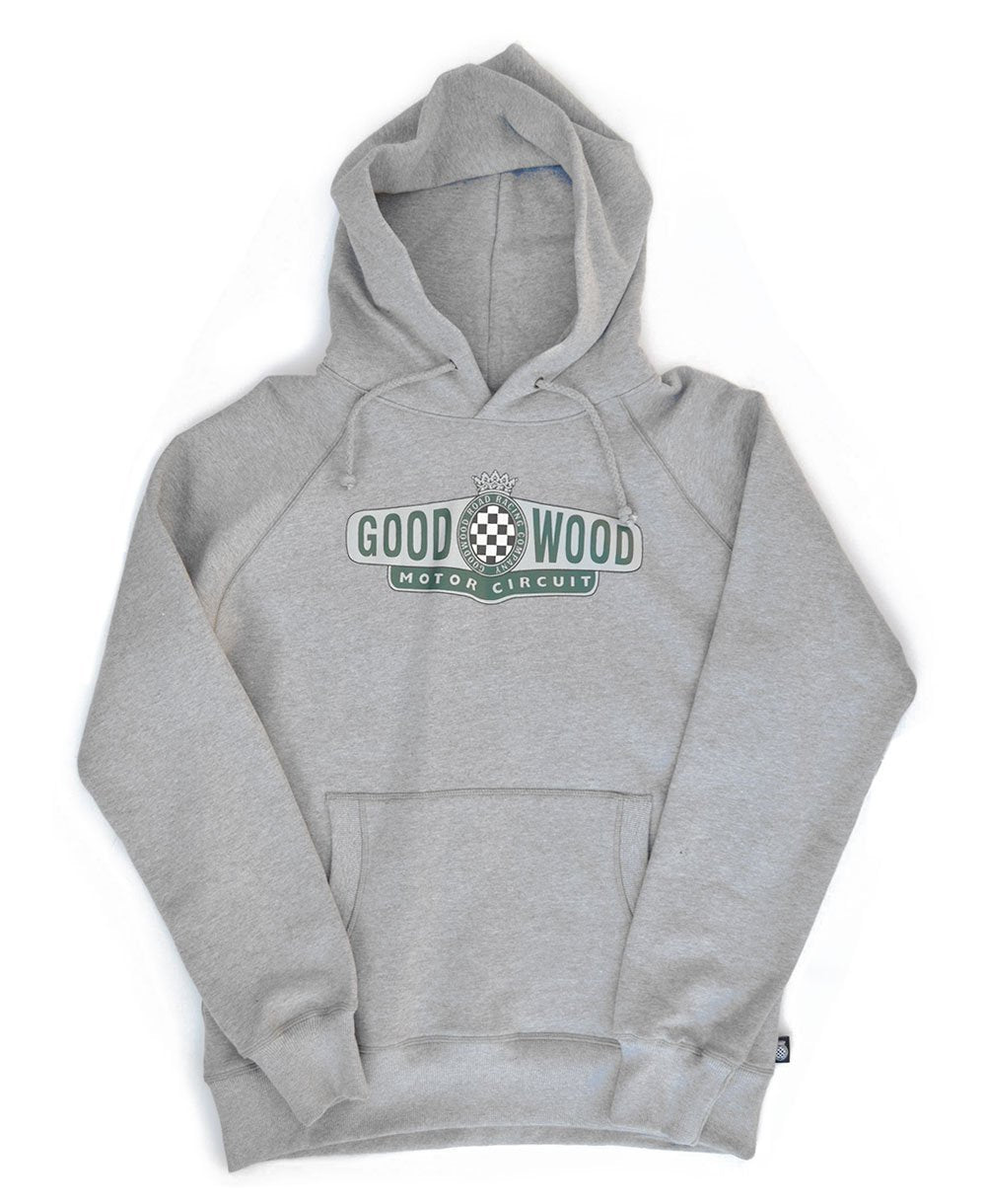 Goodwood Motor Circuit Cotton Grey Melange Unisex Hoody