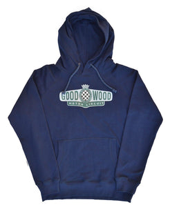 Goodwood Motor Circuit Cotton Navy Unisex Hoody