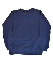 Load image into Gallery viewer, Goodwood Motor Circuit Cotton Navy Unisex Sweatshirt Back