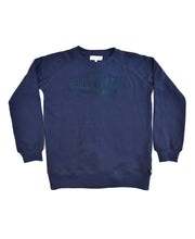 Load image into Gallery viewer, Goodwood Motor Circuit Cotton Navy Unisex Sweatshirt