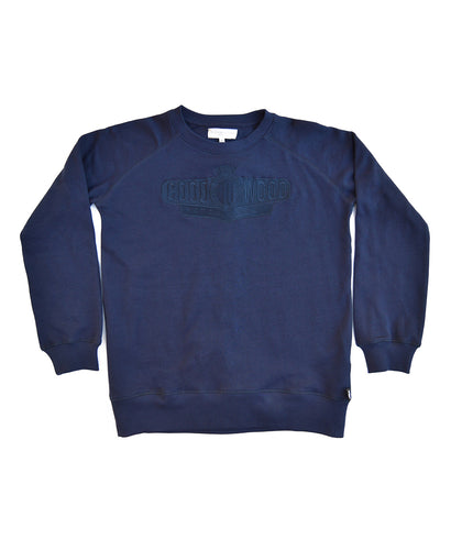 Goodwood Motor Circuit Cotton Navy Unisex Sweatshirt