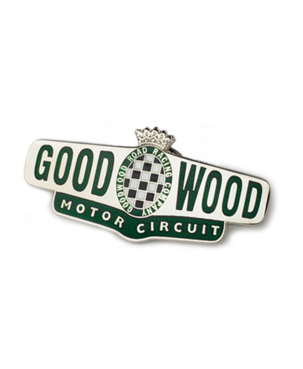 Goodwood Motor Circuit Enamel Pin Badge
