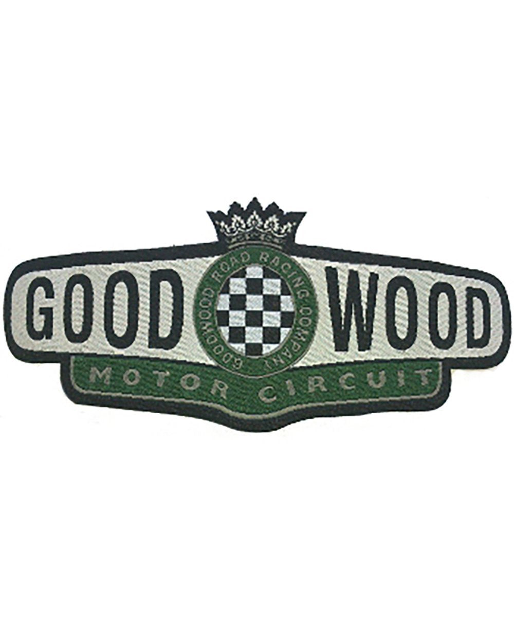 Goodwood Motor Circuit Iron On Badge