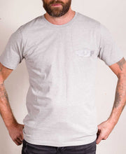Load image into Gallery viewer, Motor Circuit Men's Grey T-Shirt
