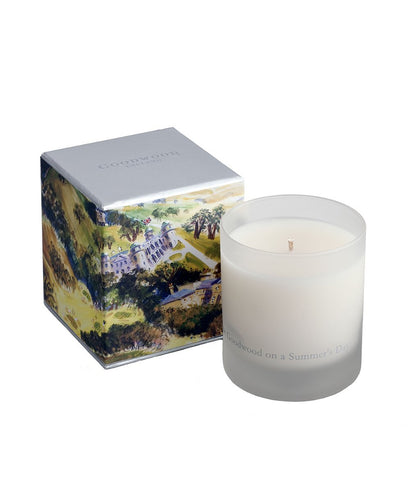 Goodwood Racecourse Give Me Goodwood On A Summers Day Candle