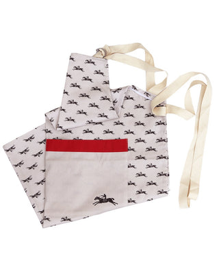 Goodwood Racecourse Stubbs Horses Apron