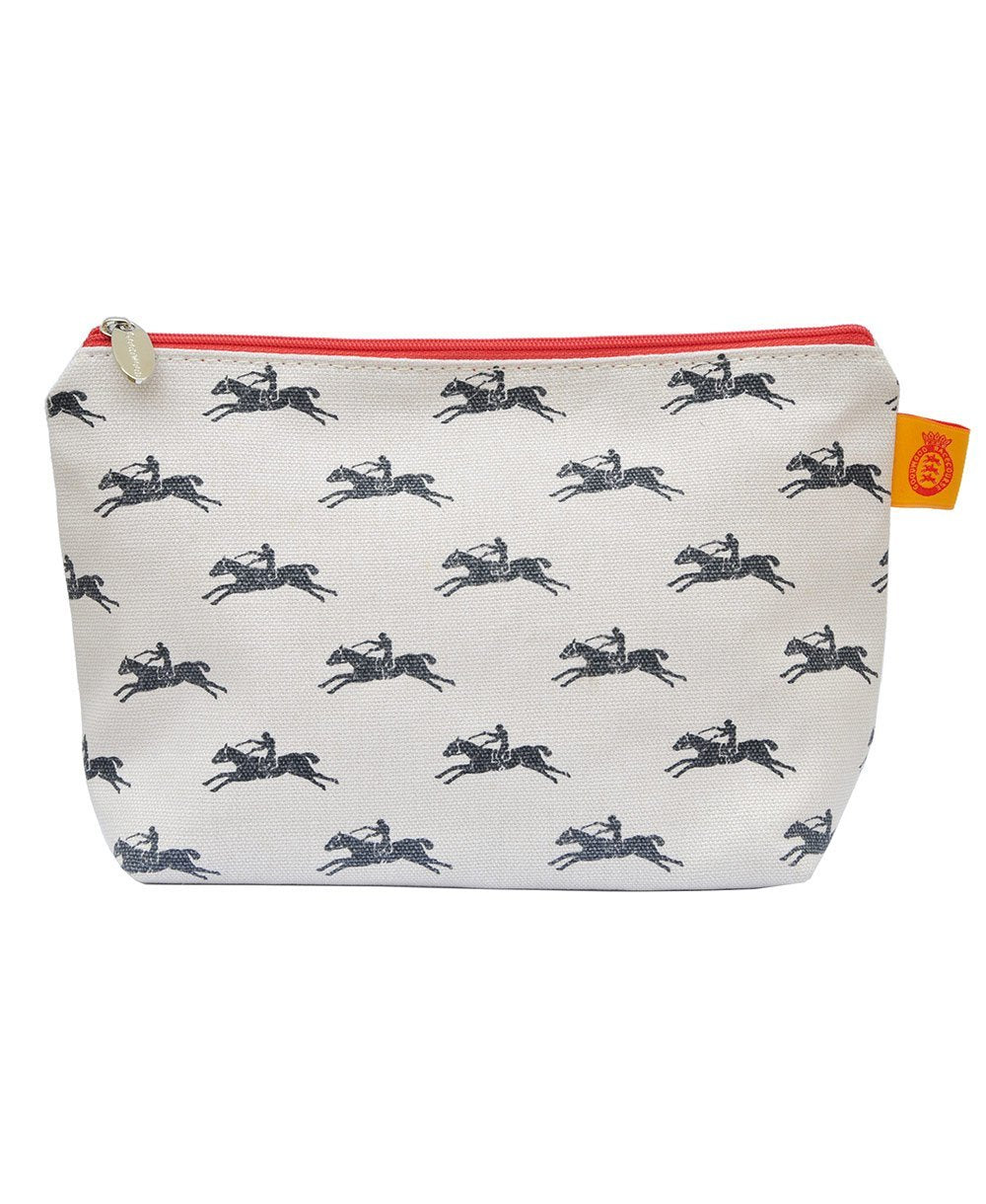 Goodwood Racecourse Stubbs Horses Cosmetic Bag
